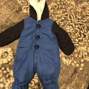 Baby boy outerwear one piece hood snowsuit NEW